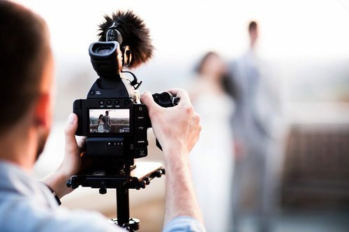 wedding photographer and videographer